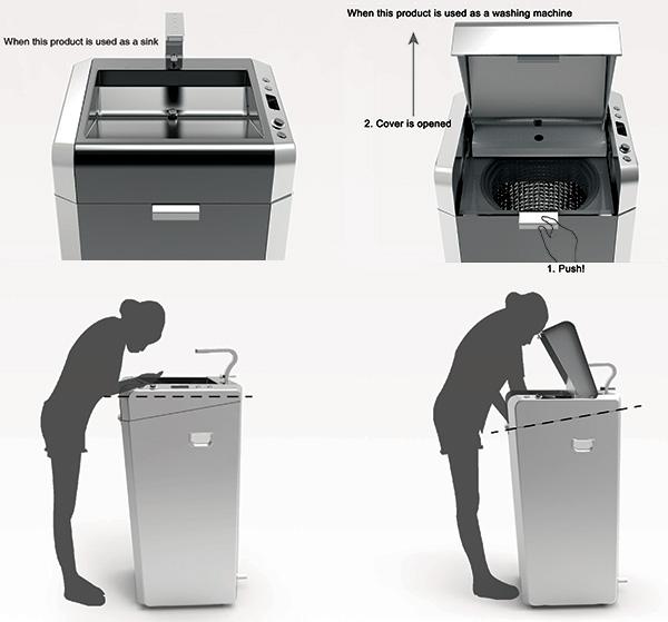 стиральная машина, сушильная машина, мойка