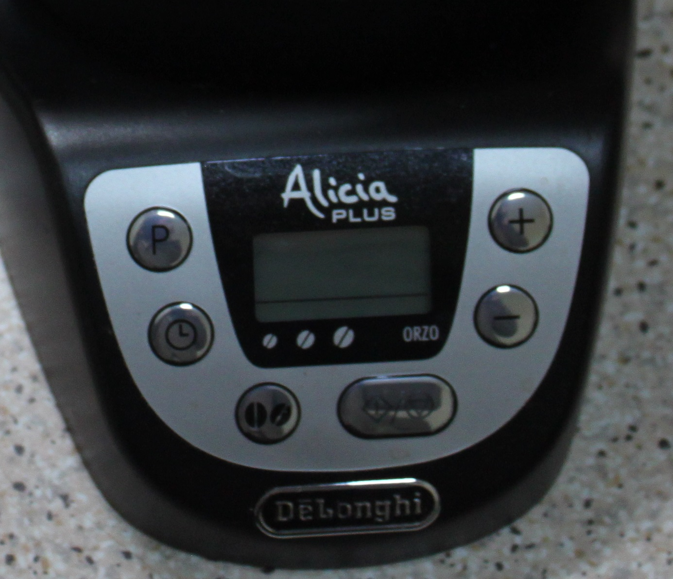 панель управления кофеварки DELONGHI Alicia Plus EMKP 63