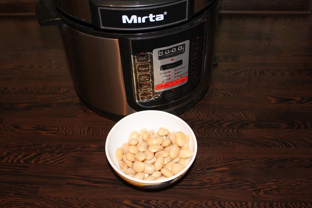 фасольприготовленная в скорварке Mirta MC-2201
