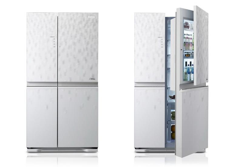 Холодильник LG «Дверь–в-двери»