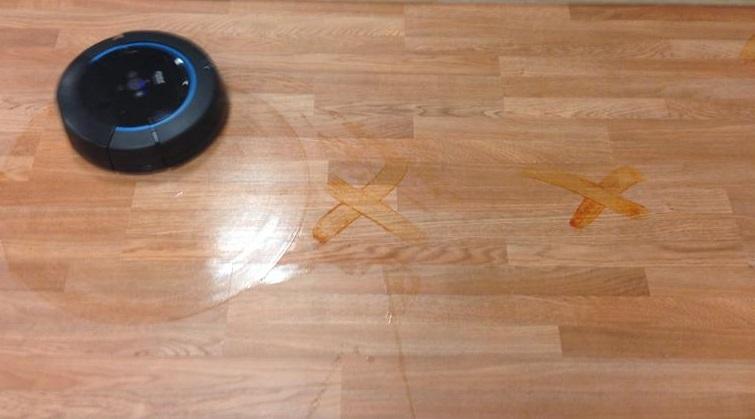 моющий робот-пылесос IROBOT Scooba 450 моет паркет