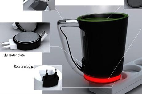 Чашка-чайник Plug Cup