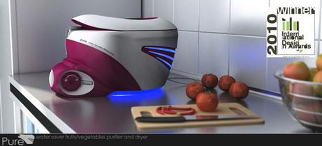PURE - Тщательное мытье овощей