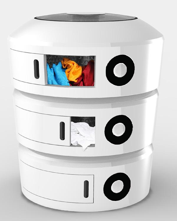 стиральная машина, которая может стирать все типы белья одновременно
